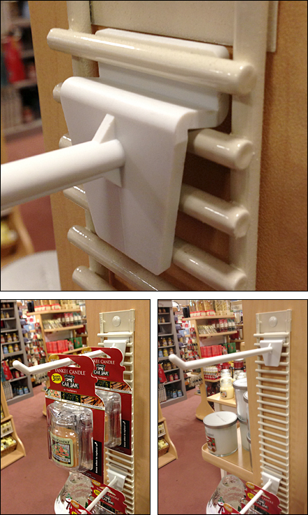 Yankee Candle Ladder Grid Composite