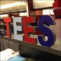 3D Tee T-Shirt Sign Main