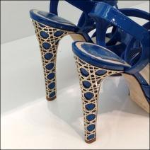 Dior Shoes 2 Grillwork Heels Closeup