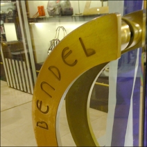 Henri Bendel Door Handle Logo Main
