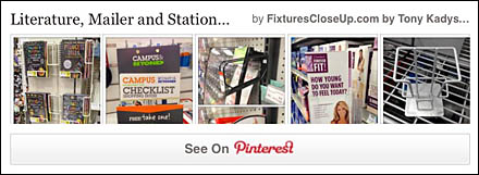 Literature, Mailer and Stationary Holder Pinterest Board
