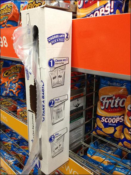 Shelf Edge Bag Dispenser Main