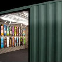 Skateboarded Diagonal Wall 3