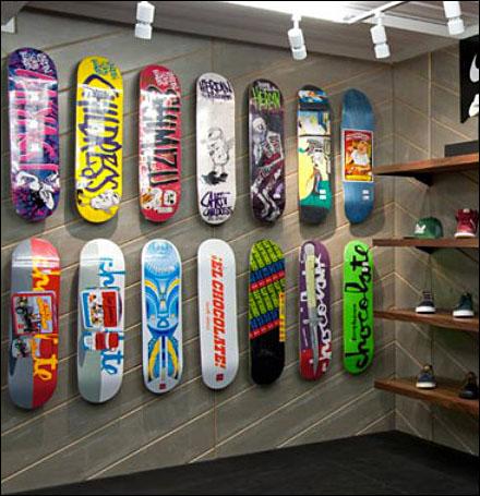 Skateboarded Diagonal Wall Main