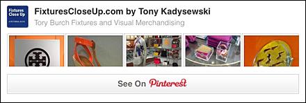 Tory Burch FixturesCloseUp Pinterest Board