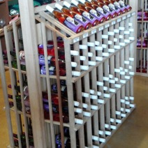 Wine Bottle Linear Rack 1