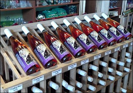Wine Bottle Linear Rack Main