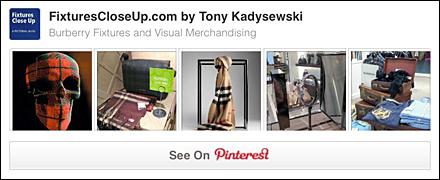 Burberry® BFixturesCloseUp Pinterest Board