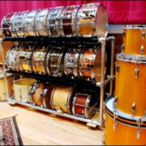 DIY Snare Drum Retailing Rack Main