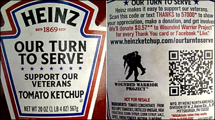 Heinz Our Turn to Serve QR Code Main