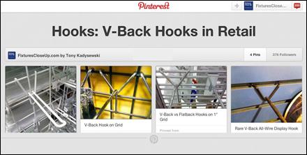 V-Back Hooks in Retail Pinterest Board-Back Hooks in Retail Pinterest Board