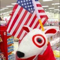 Patriotic Target Mascot Main