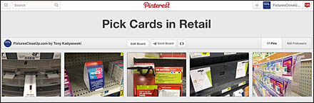 Pick Cards in Retail on Pinterest