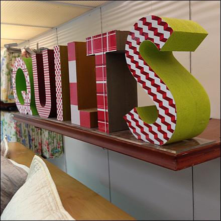 Quilts 3D Sign Main