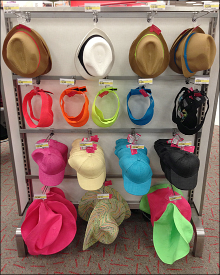 Spring Hats on Hooks Overview