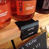 Wood Shelf Label Holder 3