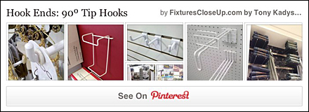 90º Tip Hooks Pinterest Board for FixturesCloseUp