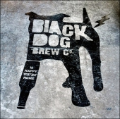 Black Dog Floor Graphic via Behance