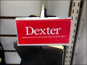 Dexter Scan Hook Logo Branding Detail