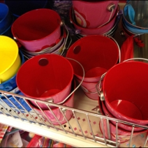 Fenced Sandbox Pails Main