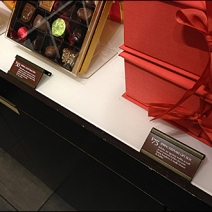 Freestanding Chocolate Label Holders Main