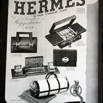 Hermes Art Deco Travel Luggage Poster 2