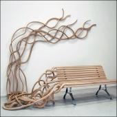 Organic Bench via Piccsy