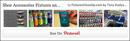Shoe Accessories FixturesCloseUp Pinterest Board