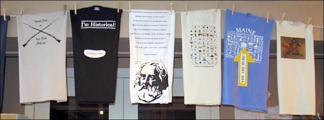 T-Shirts Clothes Line Column-Span