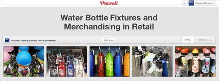 Water Bottle Fixtures Pinterest Board