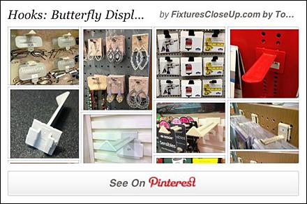 Butterfly Hook Pinterest Board for FixturesCloseUp