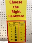Choose Right Hardware Aux 1