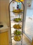 Fresh Fruit Tower with Bananas Overall