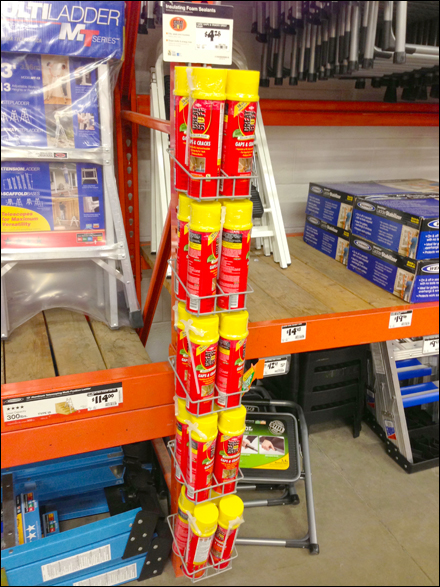 Pallate Rack Merchandiser