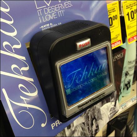 Shelf Edge LCD Bottom MOunt C-Channel Main