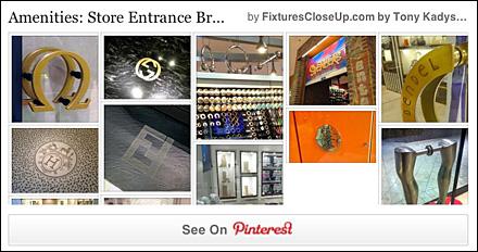 Store Entry Branding on Pinterest