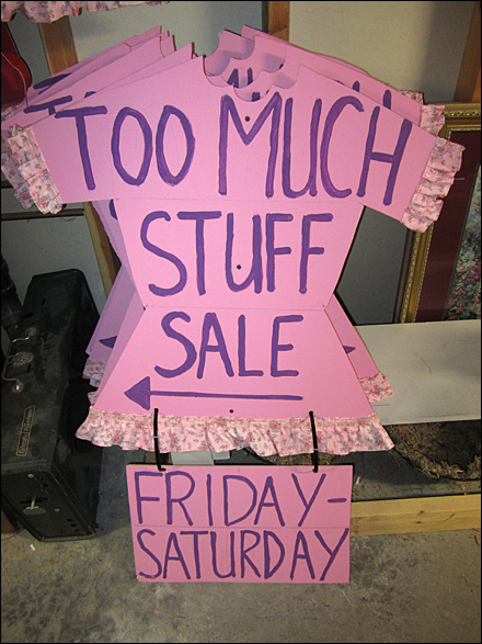 Too Much Stuff Consignment stuff Large copy