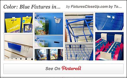 Blue Fixtures In Retail Pinterest Board Fixtures Close Up