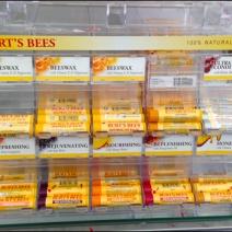 Burt's Bees EndCap Gravity Feed 3