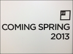 Coming This Spring CloseUp