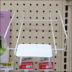 Declined All Wire Tray for Pegboard 2