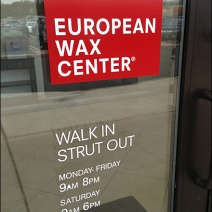 European Wax Walk in Strut Out Main