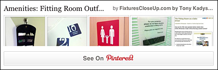 Fitting Room Outfitting Amenities Pinterest Board for FixturesCloseUp