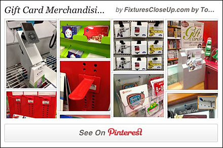 Gift Card Fixtures for Retail Pinterest Board for FixturesCloseUp