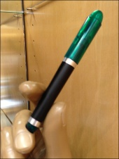 Handform Hawks Pen Closeup