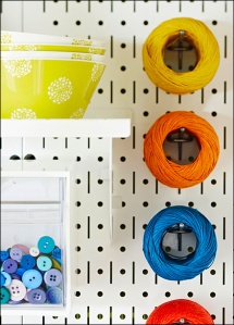Pegboard Features Vertical Slots Main