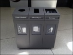 Cubist Recycling Bins By Three Aux