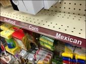 Shelf Edge Categorization by Food Main