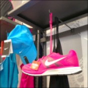 Shoe-Cap-Camisole 90º Display Hooks