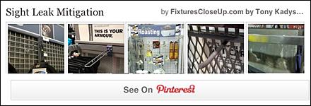 Sight Leak Mitication Pinterest Board for FixturesCloseUp